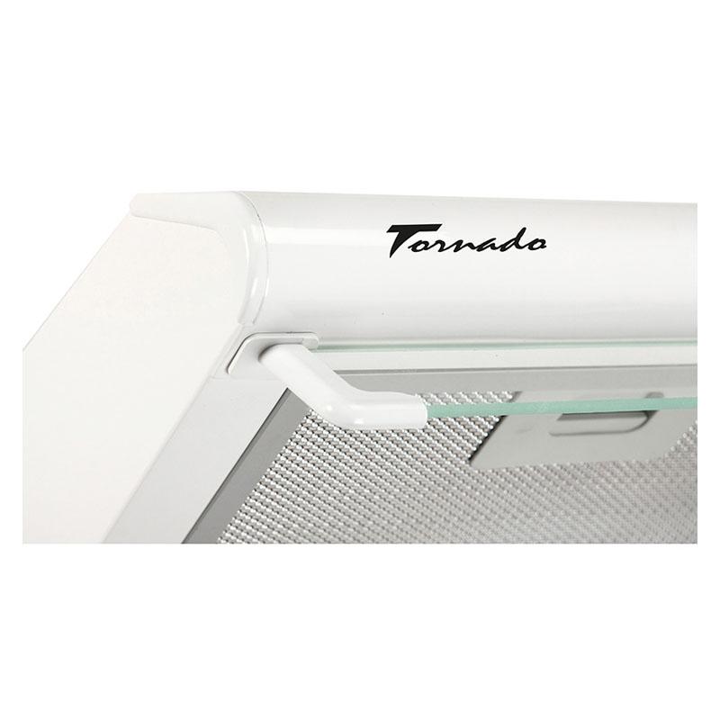 Hota Traditionala Tornado Bona 20 (60) LED, 2 motoare, latime 60 cm, absorbtie 560 m3/ora, filtru anti-grasimi aluminiu 5 straturi, Alb